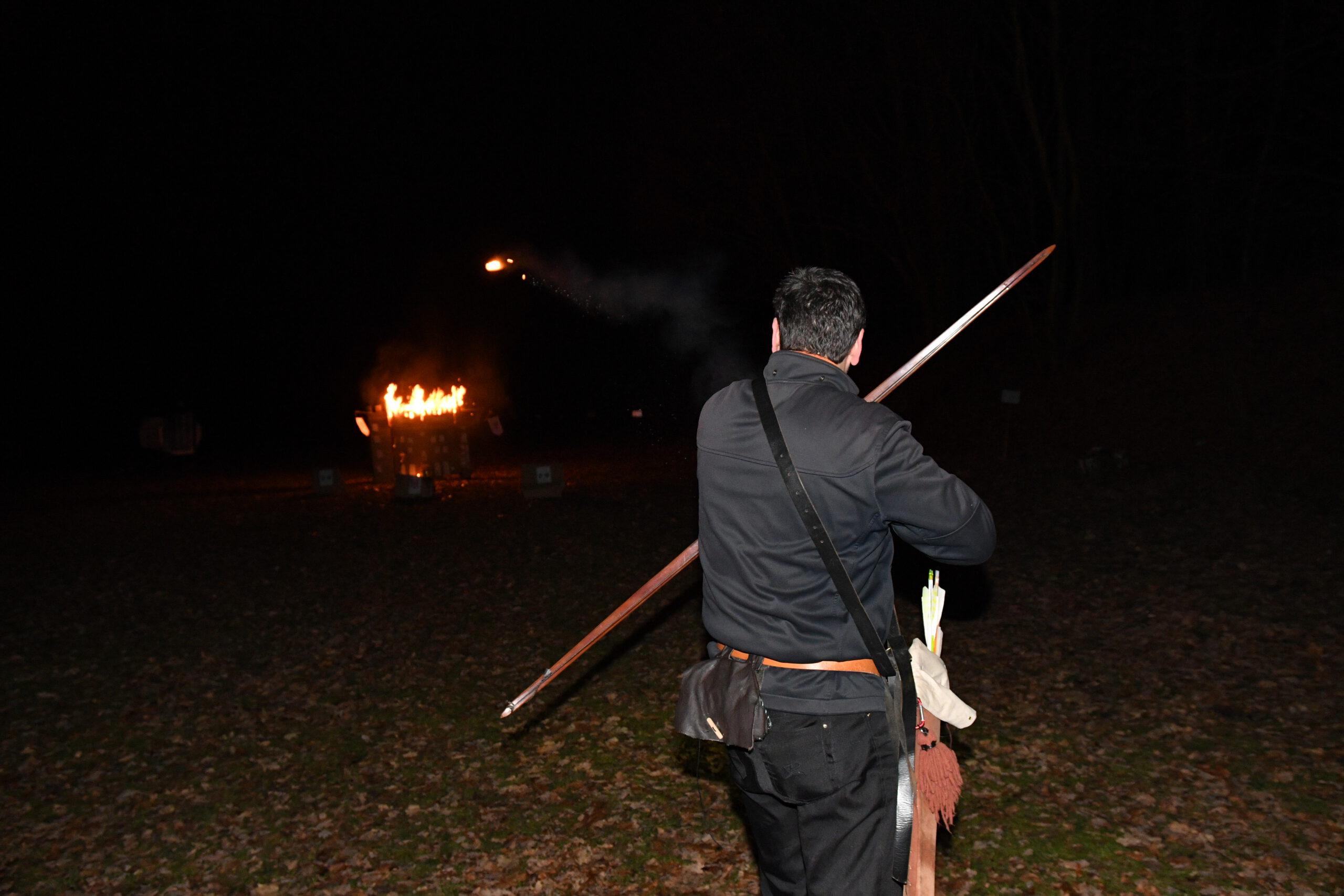 Brandpfeile in der Gilde 03.01.2020